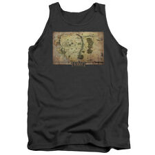 The Hobbit Middle Earth Map Mens Tank Top