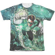 Green Lantern Galactic Hal Mens Sublimation Poly Cotton Shirt