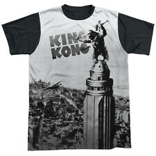 King Kong Breaking Loose Mens Sublimation Shirt with Black Back
