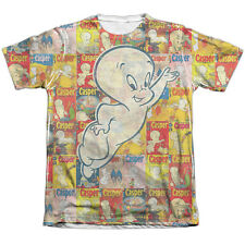 Casper Covered Mens Sublimation Poly Cotton Shirt