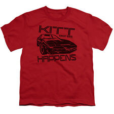 Knight Rider Kitt Happens Big Boys Youth Shirt