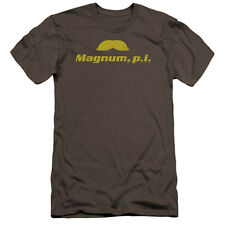 Magnum Pi The Stache Mens Premium Slim Fit Shirt