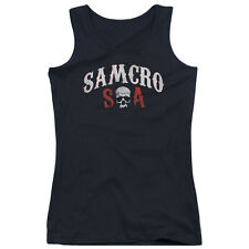 Sons Of Anarchy Samcro Forever Juniors Tank Top Shirt BLACK