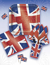 BEST OF BRITISH (Union Jack) Partyware/Balloon/Decorations/Great Britain/ENGLAND
