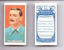 COHEN WEENEN Football Captains Cigarette Card 1998 Reprint - VARIOUS