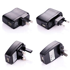 USB AC DC Power Supply Wall Charger Adapter FOR Phone MP3 MP4 US AU EU UK Plug
