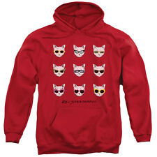 Reo Speedwagon Catitude Mens Pullover Hoodie Red