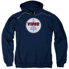 Battlestar Galactica TV Series Viper Badge Adult Pull-Over Hoodie