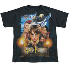 Harry Potter The Beginning Big Boys Youth Sublimated Shirt with Black Back (Whit