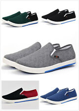 Fashion Men Flats Loafers Slip On Canvas Sneakers Boat Casual Shoes GSEGFS