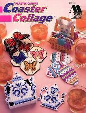 Coaster Collage ~ Easter Butterflies Angels Star & More plastic canvas patterns