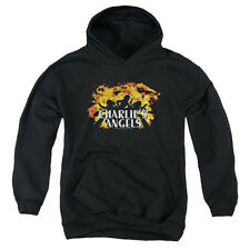Charlies Angels Fire Big Boys Youth Pullover Hoodie