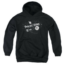 The Twilight Zone Another Dimension Big Boys Youth Pullover Hoodie BLACK