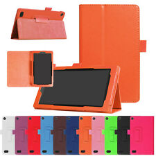 Intelligent Sleep Folding Stand Leather Case Cover For Amazon Kindle Fire 7 2017