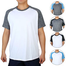 Men Quick-drying Short Sleeve Clothes Stretchy Basketball Golf Sports T-shirt