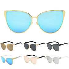 Women Oversized Designer Retro Cat Eye Sunglasses Vintage Shades Glasses Eyewear