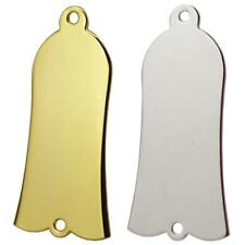 Metal Bell Shaped Truss Cover with Screws for Bass Guitar Instrument Parts