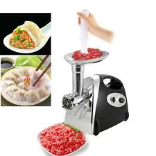 Electric Meat Grinder Kitchen 2800 Watt Butcher Sausage Maker 4 Cutting Blades