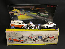 VINTAGE DINKY POLICE VEHICLES GIFT SET 297- REPRODUCTION BOX, CONTENTS RESTORED