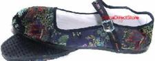 Discontinued Toddler/Girl's Black Brocade Buckle Mary Jane Shoes