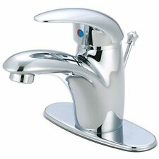 "Kingston Brass Wilton Single Handle 4"" Centerset Lavatory Faucet with Retail Pop"