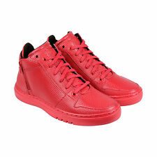 Creative Recreation Adonis Mid Mens Red Leather High Top Sneakers Shoes