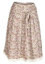 New Womans ladies Vintage dusty pink ditsy floral Skirt size  8 / 18