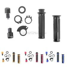 """2Pcs Motorcycle 22mm 7/8"""" Throttle Handlebar with Bar End Caps Plugs"""
