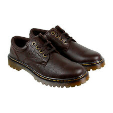 Dr. Martens Ashfield Mens Brown Leather Casual Dress Lace Up Oxfords Shoes