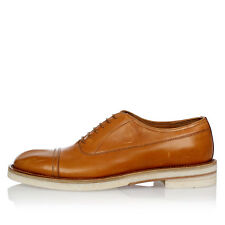 MAISON MARTIN MARGIELA New Men Brown Leather laced Shoes Made in italy