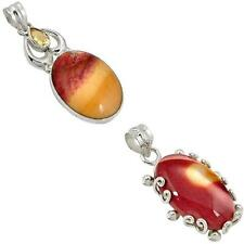 925 sterling silver mookaite pendant jewelry by jewelexi 6655A
