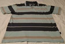 Men's XL Patagonia Organic Cotton Polo Shirt Short Sleeve Multi Color Stripe VGC