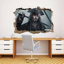 Pirates Of The Caribbean Smashed Wall Decal Graphic Sticker Home Art Mural J164