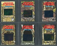 "NABISCO 1986 ""DUNGEONS & DRAGONS HOLOGRAM"" TRADE CARDS - PICK YOUR CARD"