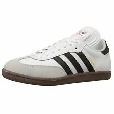 Adidas Samba Classic Run White Mens Casual Lace Up Leather Trainers