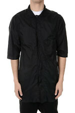 RICK OWENS DRKSHDW New Man Black Jacket in Fabric Made in Italy NWT