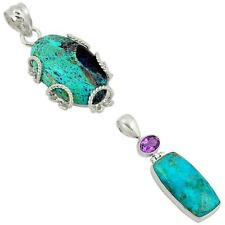 925 sterling silver shattuckite pendant jewelry by jewelexi 8147A