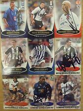 AUTOGRAPHED TOPPS PREMIER GOLD 2003 CARDS: FREE UK P&P: SUPERB ITEMS LOOK!!