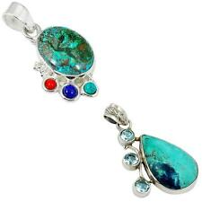 925 sterling silver shattuckite pendant jewelry by jewelexi 2314B