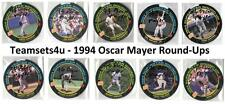 1994 Oscar Mayer Round Ups Baseball Set ** Pick Your Team **