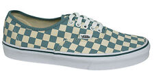 Vans Off The Wall Era Checkerboard Lace Up White Blue Plimsolls 3B9IC6 Vans B