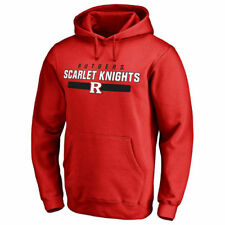 Rutgers Scarlet Knights Scarlet Team Strong Pullover Hoodie - College