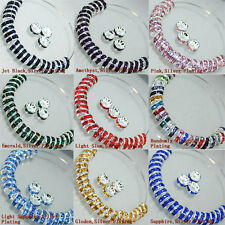 100PC 8MM Czech Crystal Glass Round Loose Spacer Beads Wholesale Jewelry Making