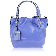 TODS new Woman Sacca Micro purple Leather Hand Bag Made in Italy NWT