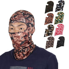 Full Coverage Face Mask Cycling Gel Padded Neck Protector Hood Helmet Balaclava
