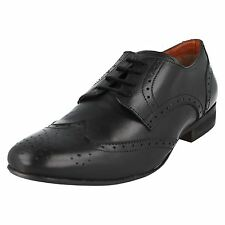 Mens Aberto Torresi A2083 Lace Up Brogue Shoes