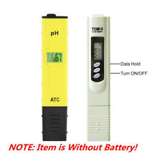 TDS Tester+Digital Ph Meter Aquarium Pool Hydroponic Water Monitor 0-9999 PPM