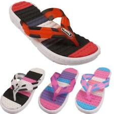 New Womens Ladies Summer Holiday Beach Sports Sippers Sandals Flip Flops Sizes
