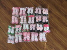 MUD PIE BABY SOCKS NEWBORN TO 12 MONTHS ASSORTED VARIETY OF STYLES NEW