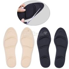 Hot Women Ladies Barefoot Insoles Sponge Shoe Inserts Cushion Arch Support Pad